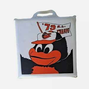 Orioles Esskay seat cushion 79 A.L. Champs